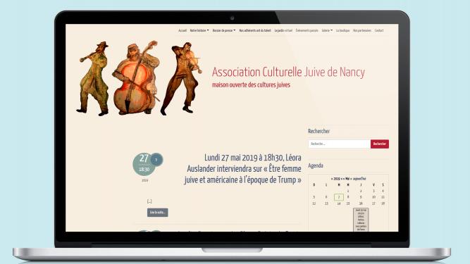 Site web de L'ACJ